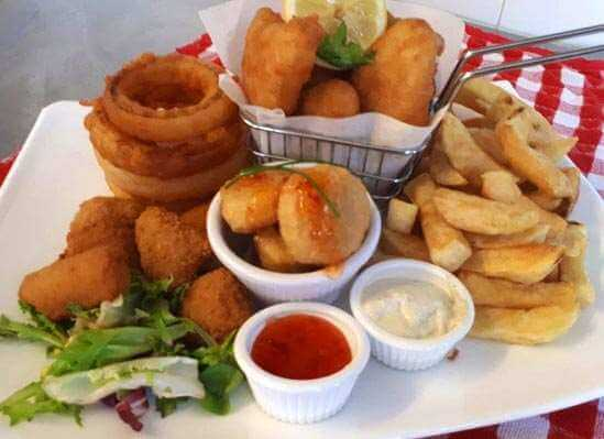 Taylors Fish and Chips Share Plate